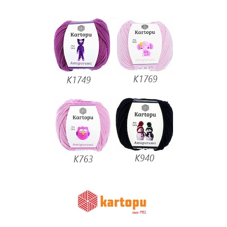 KARTOPU AMiGURUMi İPİ K763 LIGHT PINK | Kartopu Amigurumi | Aşkın Y... | 450x450