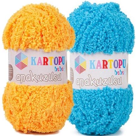 Kartopu Amigurumi Pamuk Cotton EL Örgü İpi K544 Mavi Fiyatı ve ... | 450x450