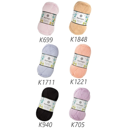Kartopu Baby Natural Örgü İpi - Online Sipariş   450x450