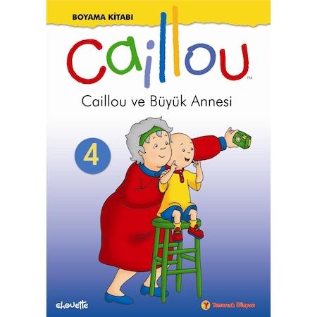 Caillou Boyama Kitabi 4 Egitici Ogretici N11 Com