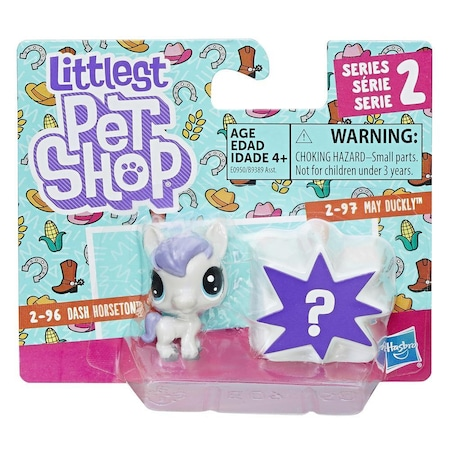 hasbro lps littlest pet shop 2 li ordek at minisler oyuncaklari