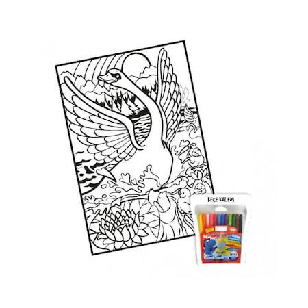 Kadife Boyama Sanatı Eğitim Seti N11com