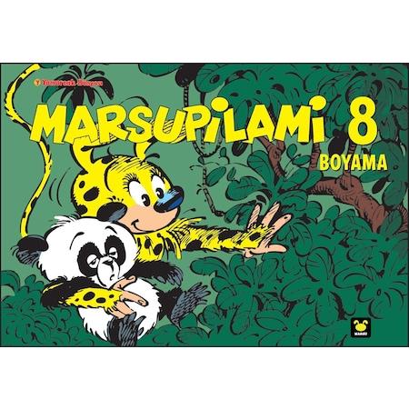 Marsupilami Boyama Kitabı 8 N11com