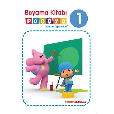 Pocoyo Boyama Kitabı 1 Eğitici öğretici N11com