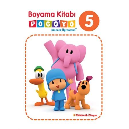 Pocoyo Boyama Kitabı 5 Eğitici öğretici N11com