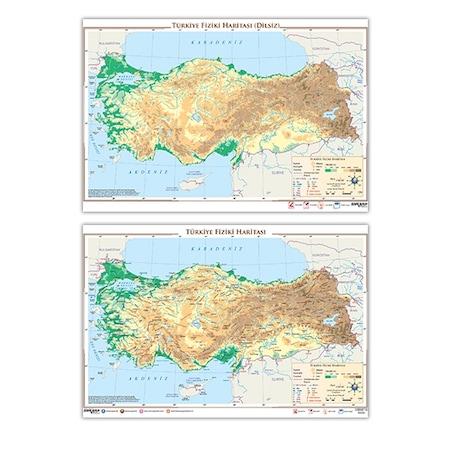 Türkiye Fiziki Haritası N11com