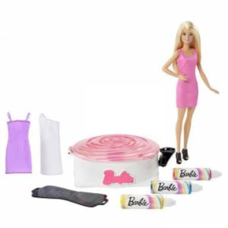 Barbie Renkli Elbise Boyama Atölyesi N11com