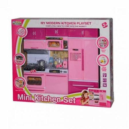 Mutfak Seti 48lü Işıklı Sesli Mini Kitchen Set N48 Stunning Mini Kitchen Set
