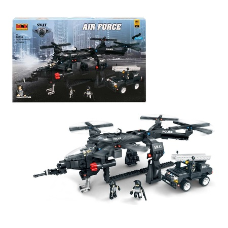Blx Lego Swat özel Kuvvetler Air Force 4 Figür 742 Parça N11com
