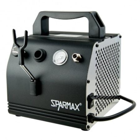 sparmax ac 27 sessiz mini airbrush kompresor seti