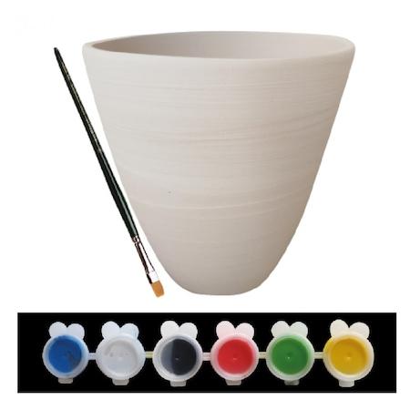 Seramik Saksı Boyama Eğitim Seti Istediğin Gibi Boya Kum Toys N11com