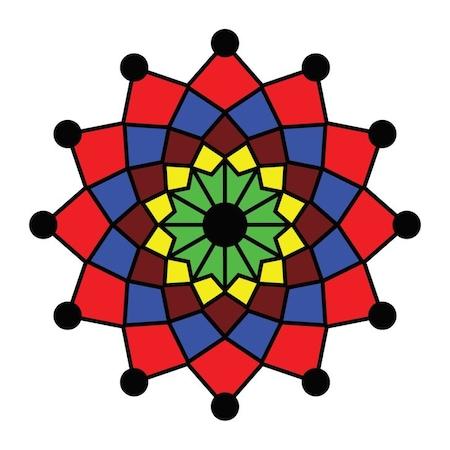 Sevgilibebek 4 Yaş Erken Eğitim Mandala Boyama Seti N11com