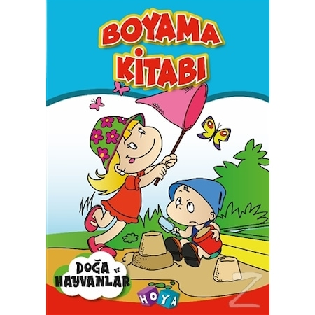 Boyama Kitabi Doga Ve Hayvanlar N11 Com
