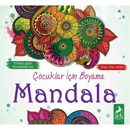 çocuklar Için Boyama Mandala N11com