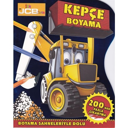 Ilk Jcb Lerim Kepçe Boyama N11com