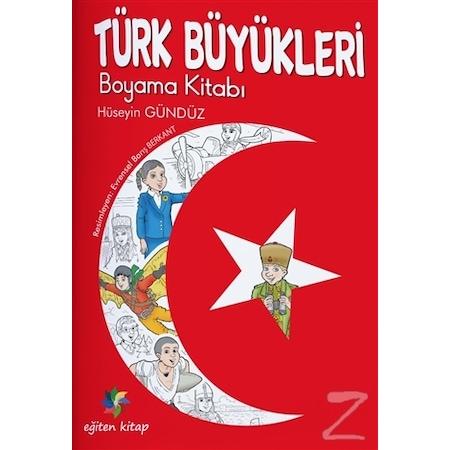 Türk Büyükleri Boyama Kitabı N11com