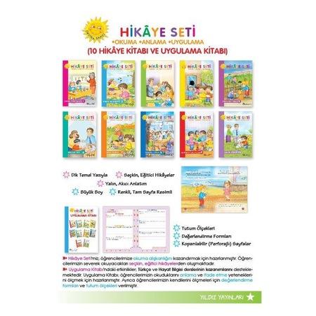Yıldız Yayınları 1sınıf Düz Yazılı Hikaye Seti N11com