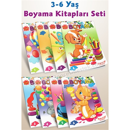 3 6 Yas Super Boyama Seti N11 Com