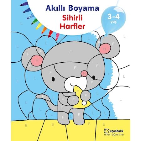 Akilli Boyama Sihirli Harfler 3 4 Yas Tudem Egitim N11 Com