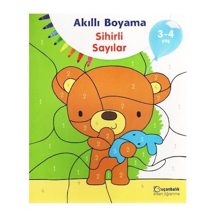 Akilli Boyama Sihirli Sayilar 3 4 Yas N11 Com
