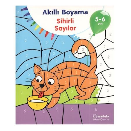 Akilli Boyama Sihirli Sayilar 5 6 Yas N11 Com