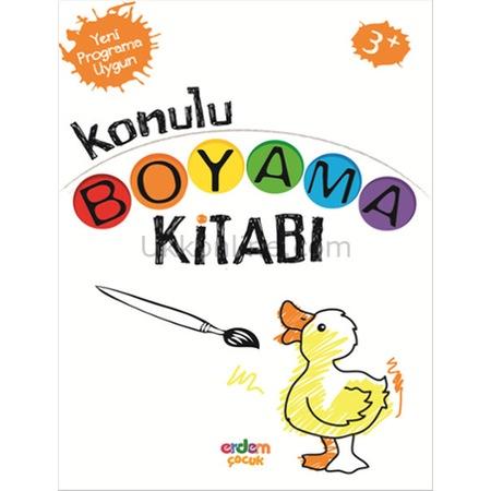 Anaokulu Için Konulu Boyama Kitabı 3 Yaş N11com