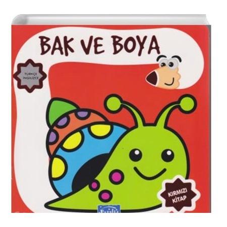 Bak Ve Boya Turkce Ingilizce Boyama Kitabi N11 Com