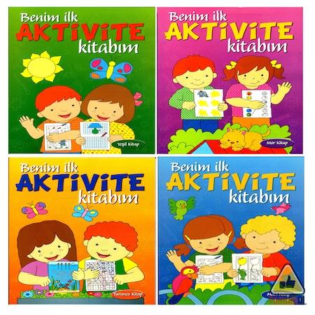 Benim Aktivite Kitabım Kavramlar özgün Boyama Eşleştirme 4kitap