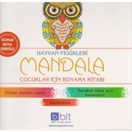 Bulut Mandala Hayvan Figurleri Boyama Kitabi Bulut Yayinlari N11 Com