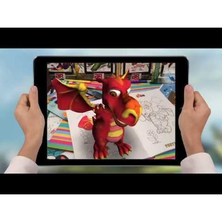 Canlanan Kitap Sevimli Kahramanlar 4d Boyama Kitapları Devar Kids