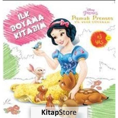Disney Ilk Boyama Kitabim Pamuk Prenses Ve Yedi Cuceler Koll