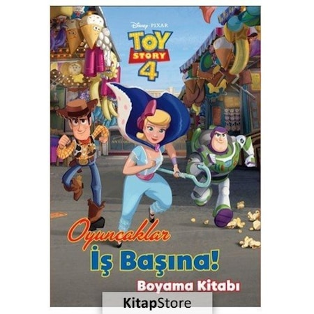 Disney Toy Story 4 Oyuncaklar Is Basinda Boyama Kitabi N11 Com