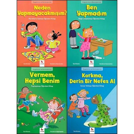 Duygularımız Ve Davranışlarımız Okul öncesi Değerler 4 Kitap Set