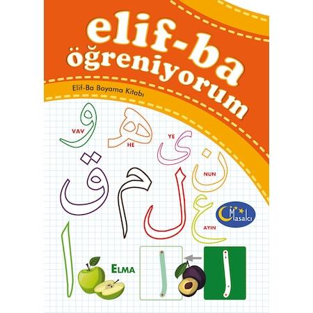 Elif Ba öğreniyorum Elif Ba Boyama Kitabı N11com