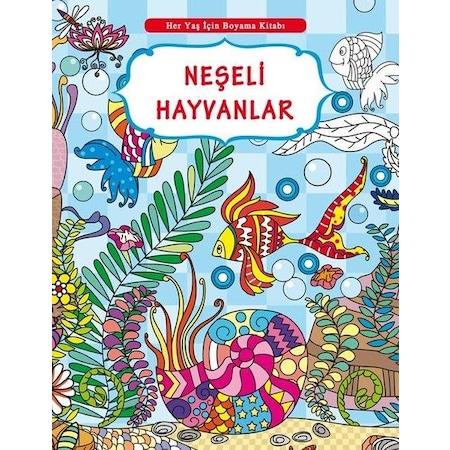 Her Yas Icin Boyama Kitabi Neseli Hayvanlar Selimer N11 Com