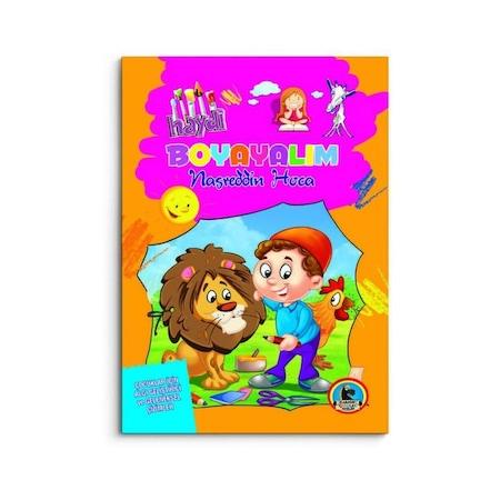 Karatay Yayınları Nasreddin Hoca Boyama Kitapları N11com