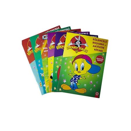 Looney Tunes Eglenceli Boyama Ve Aktivite 6 Kitap Cikartma He