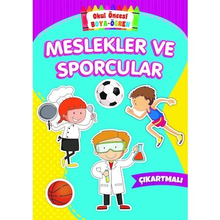 Okul Oncesi Boya Ogren Meslekler Ve Sporcular N11 Com