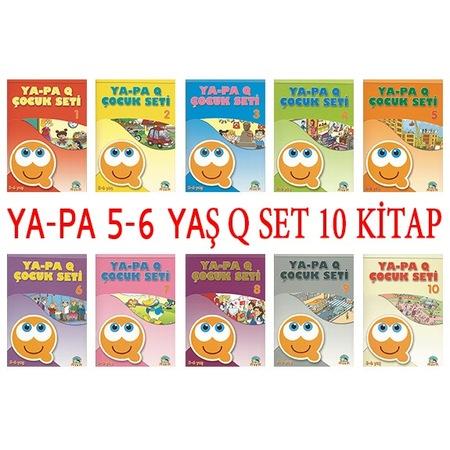 Okul Oncesi Egitim Seti 10 Kitap 5 6 Yas Ya Pa Q Set N11 Com