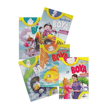 Ornege Bakarak Boya Okul Oncesi Boyama Seti 5 Kitap N11 Com