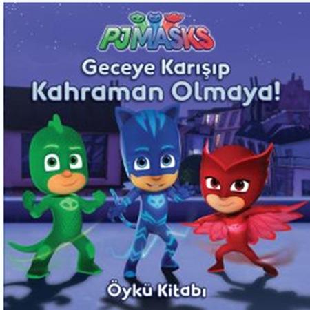 Pijamaskeliler Pjmasks Faaliyet çıkartma öykü Boyama Kitabı 5li