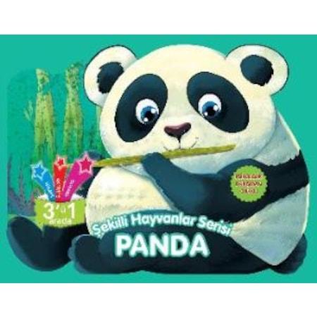 Sekilli Hayvanlar Serisi Panda Hikaye Boyama Aktivite N11 Com