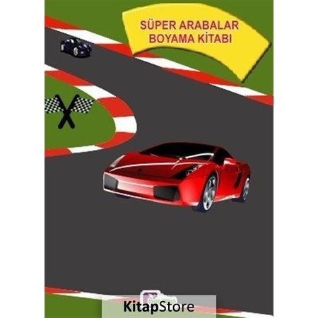 Super Arabalar Boyama Kitabi N11 Com