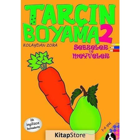 Tarcin Boyama 2 Sebzeler Ve Meyveler Ilk Ingilizce Kelimele