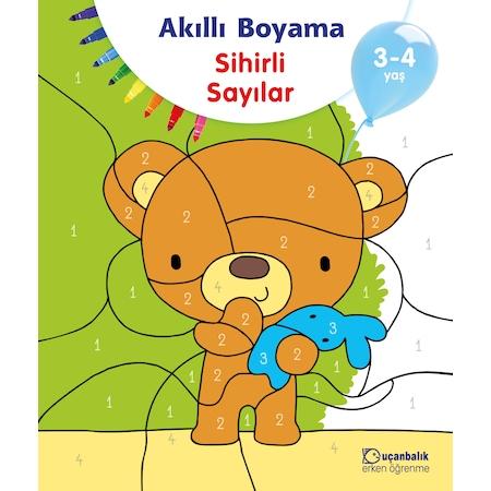 Ucanbalik Akilli Boyama Sihirli Sayilar 3 4 Yas N11 Com