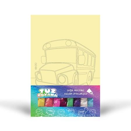 Otobüs 1 Tuz Boyama N11com