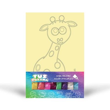 Zürafa Tuz Boyama N11com