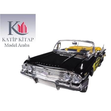 Motormax 1960 Chevrolet Chevy Impala 118 Siyah Model Araba N11com
