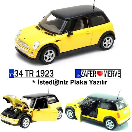 Bmw Mini Cooper >> Plakali Welly Bmw Mini Cooper 1 24 Model Araba Sari 22075 N11 Com