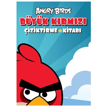 Angry Birds Kırmızı Kuş Boyama Kitabı N11com